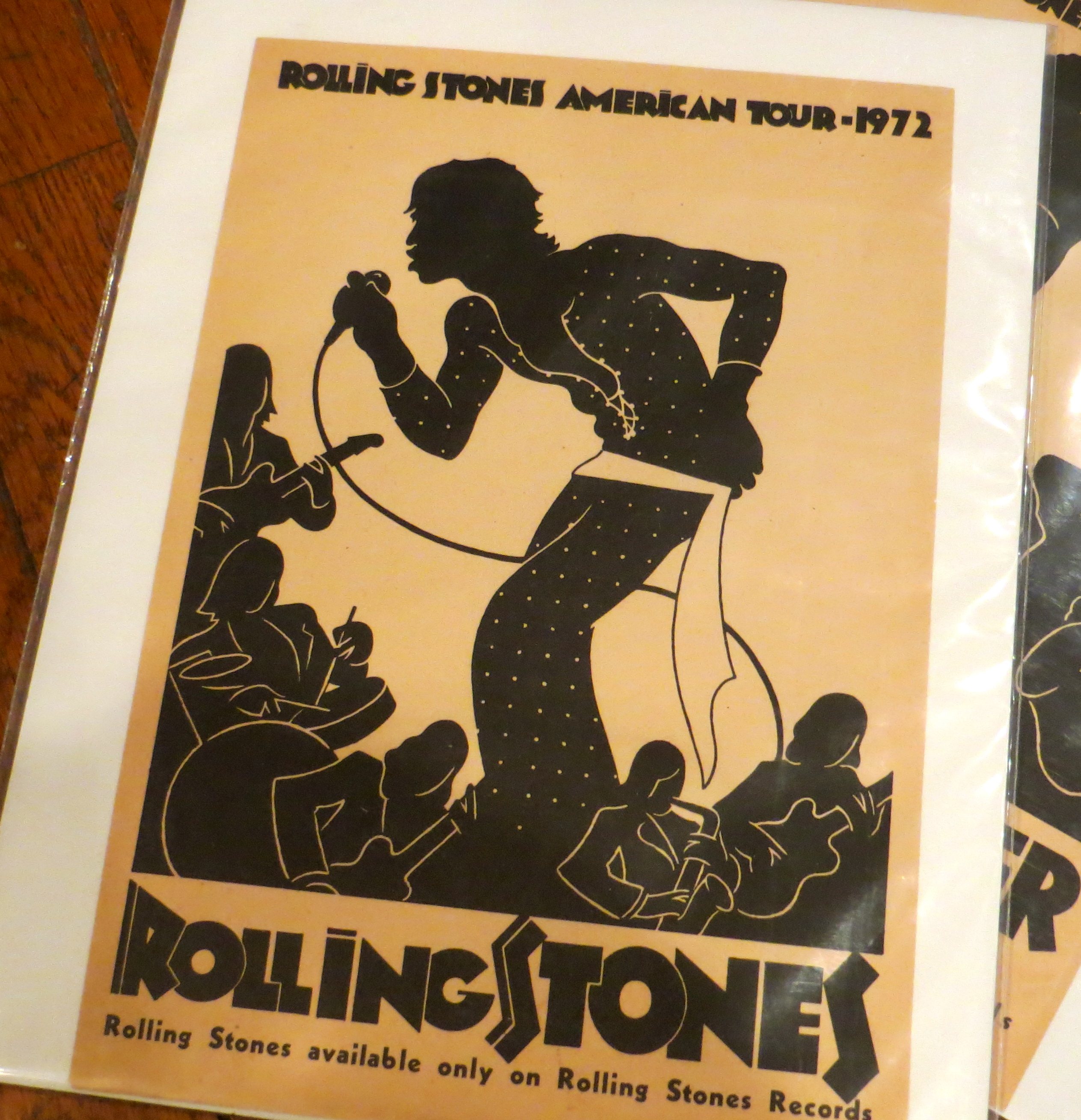 more rarities from the 1972 stp tour simply the best rolling stones tour hands down gary. Black Bedroom Furniture Sets. Home Design Ideas