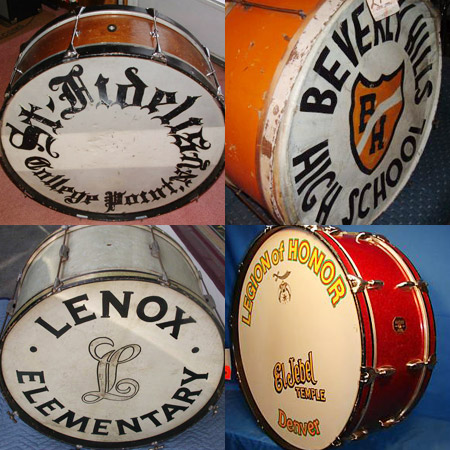 the lost art of bass drum head design bring back 70 s 80 s and hell might as well bring back. Black Bedroom Furniture Sets. Home Design Ideas