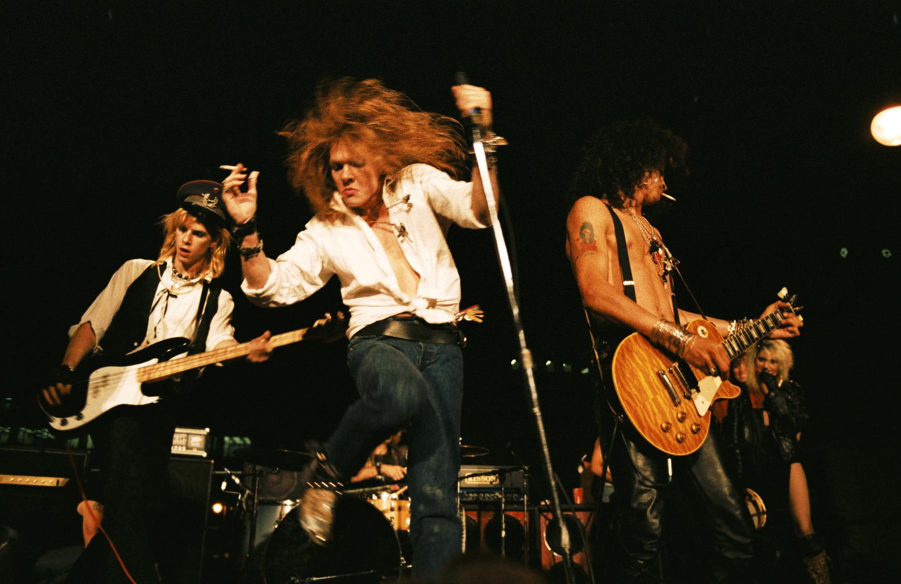 """Guns N Roses 2013 Members """"Reckless Road"""" by..."""