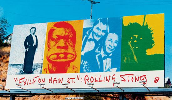 John_Van_Hamersveld_Rolling_Stones___Exile_On_Main_Street_Billboard_178