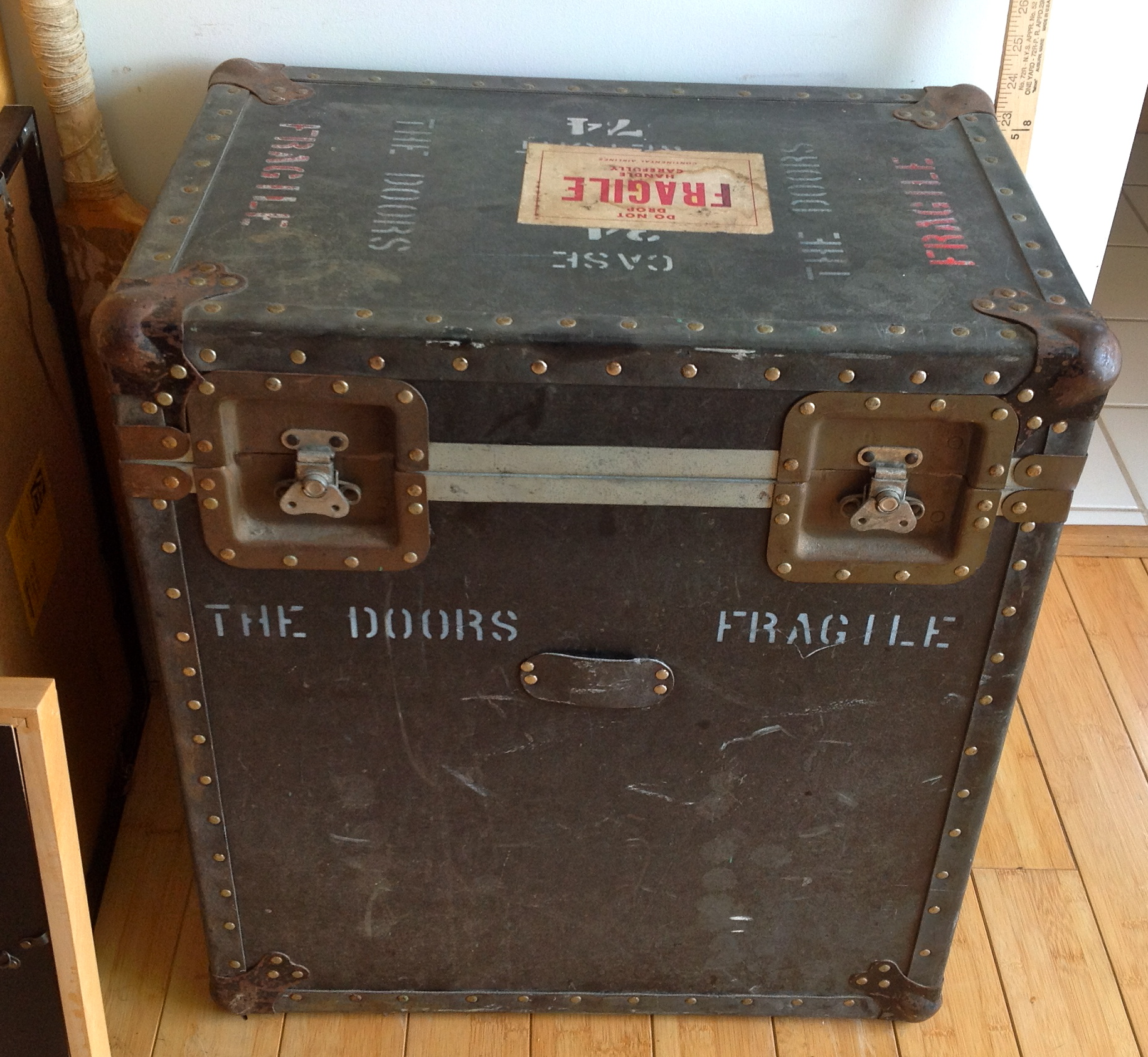 On The Road Again Set Lists And Road Cases The Doors