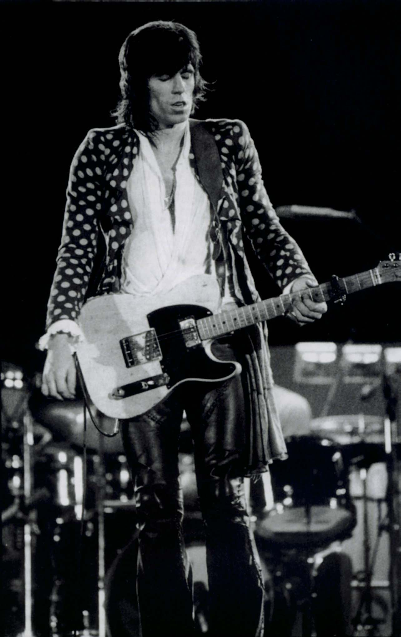 Keith Richards Was Wearing Pirate Shirts Way Before Johnny